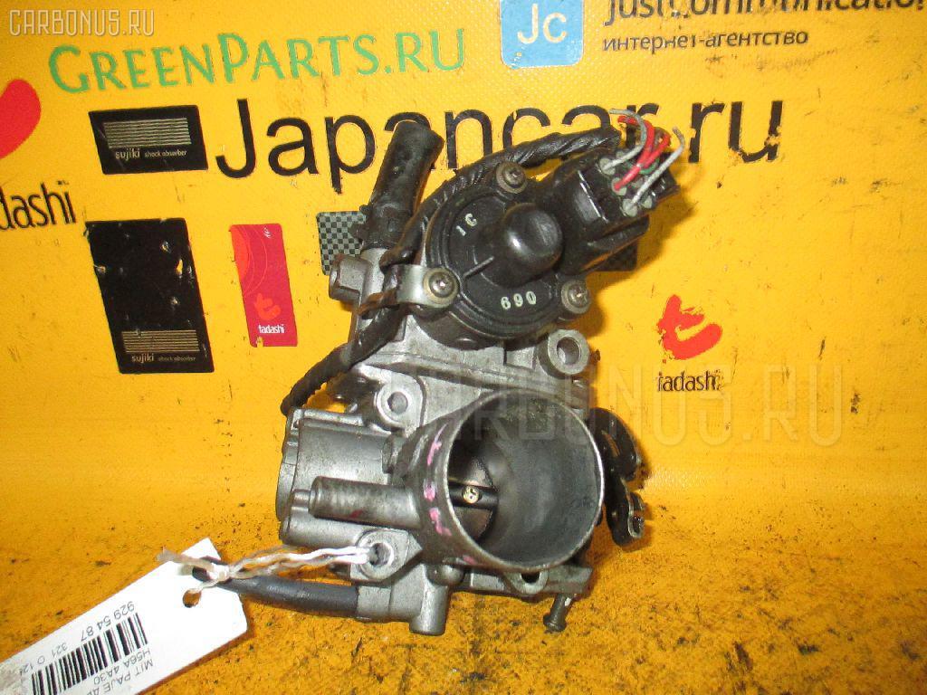 Дроссельная заслонка Mitsubishi Pajero mini H56A 4A30 Фото 1