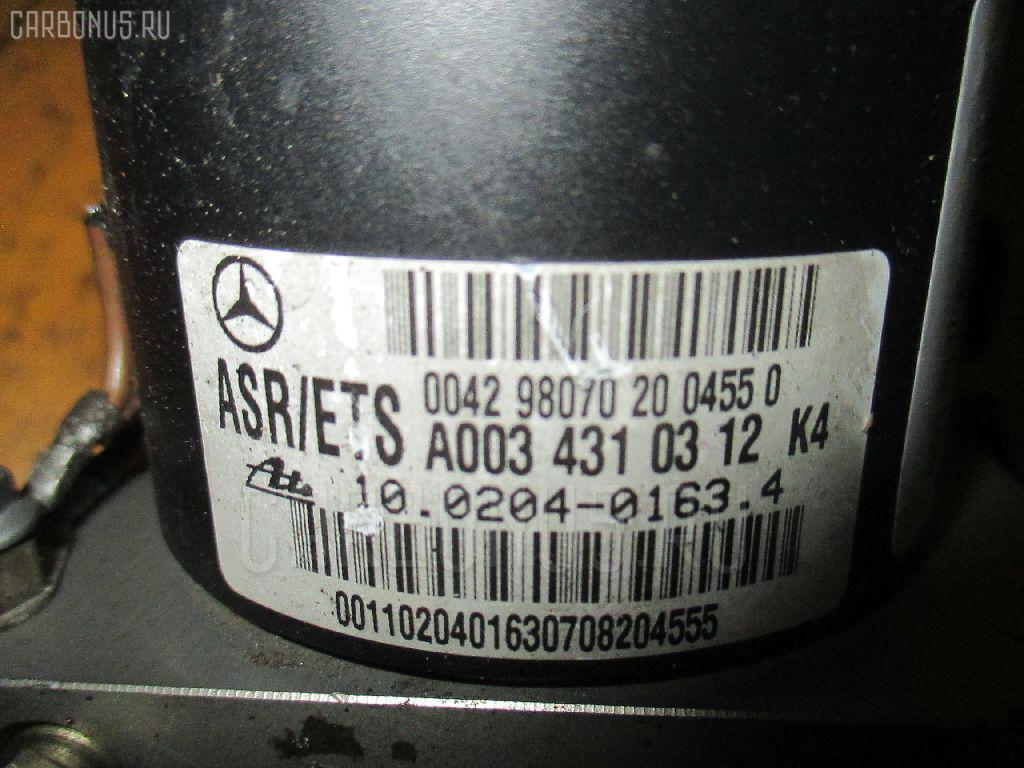 Блок ABS MERCEDES-BENZ SLK-CLASS R170.447 111.973 Фото 1