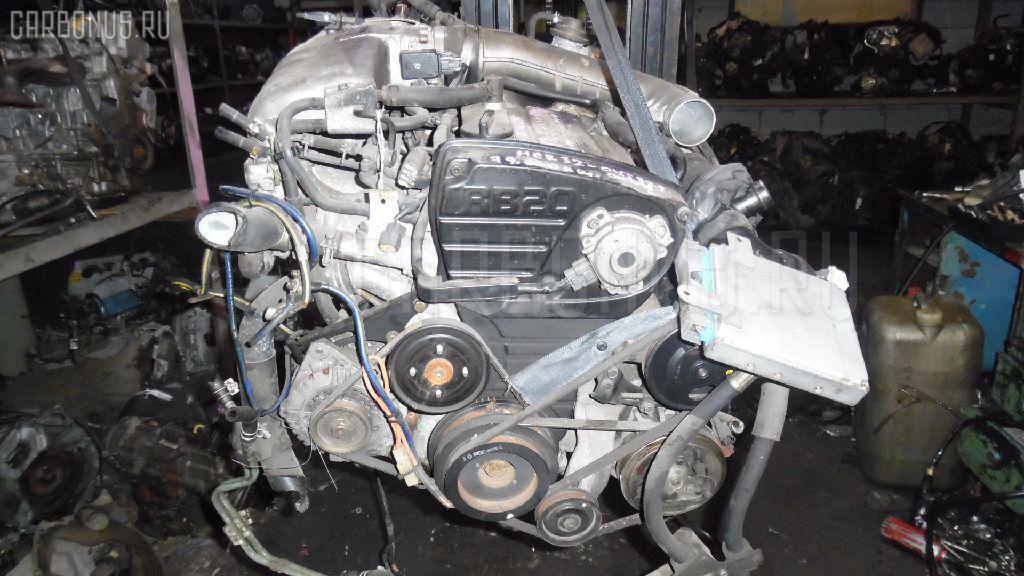 Двигатель NISSAN SKYLINE HCR32 RB20DET. Фото 7