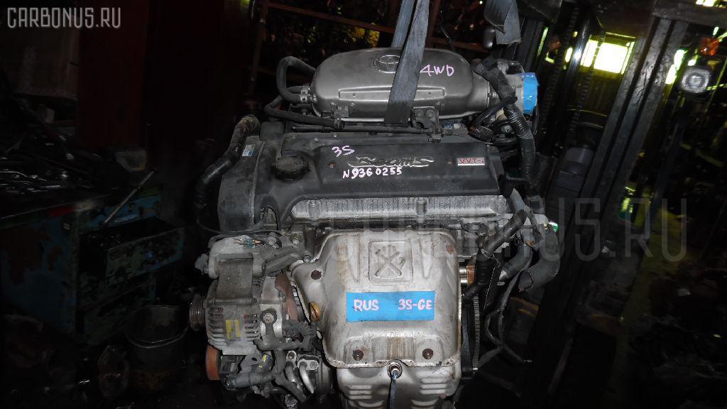 Двигатель TOYOTA CALDINA ST215G 3S-GE Фото 2