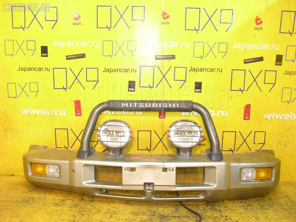 Бампер Mitsubishi Pajero junior H57A Фото 1