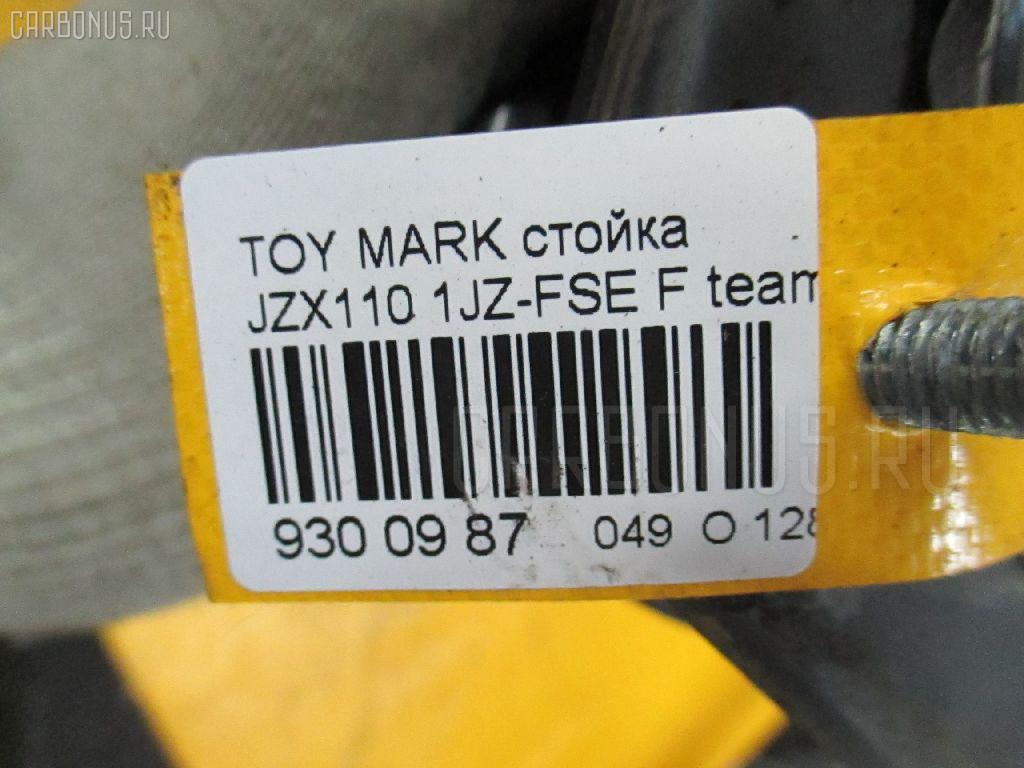 Стойка TOYOTA MARK II JZX110 1JZ-FSE Фото 3