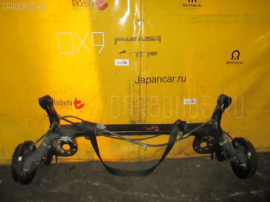 Балка подвески TOYOTA IST ZSP110 2ZR-FE Фото 3