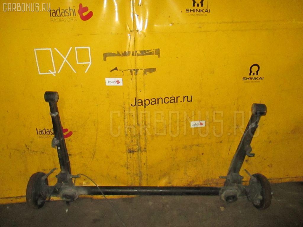 Балка подвески SUZUKI KEI HN11S F6A. Фото 6