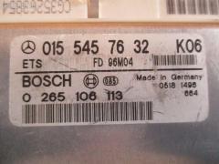 Блок EFI Mercedes-benz E-class W210.055 104.995 Фото 4