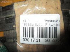 Тормозные колодки Subaru Legacy b4 BE5 EJ204 Фото 3