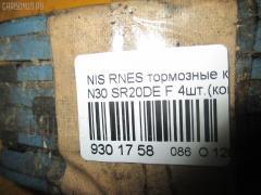 Тормозные колодки NISSAN RNESSA N30 SR20DE Фото 3