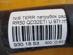 Патрубок радиатора ДВС NISSAN TERRANO RR50 QD32ETI Фото 2