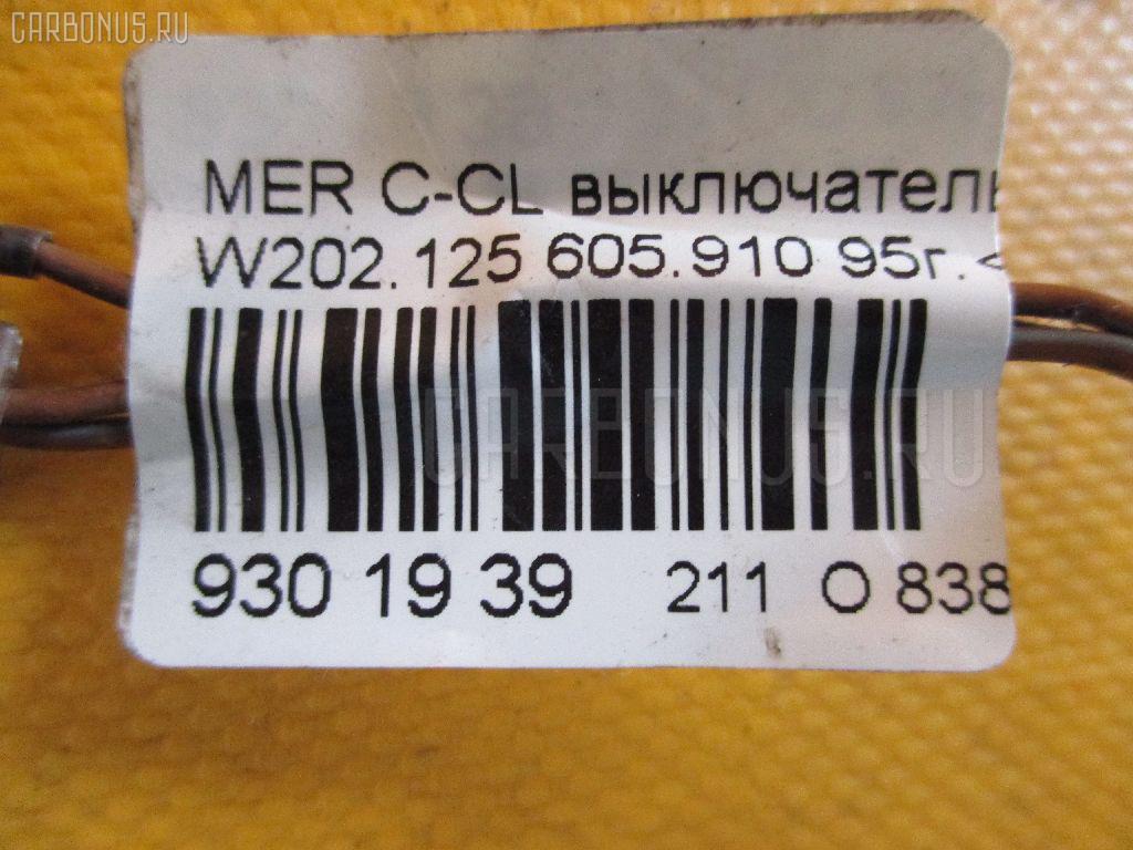 Выключатель концевой MERCEDES-BENZ C-CLASS W202.125 605.910 Фото 2