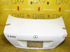 Крышка багажника MERCEDES-BENZ S-CLASS W220.178 Фото 2