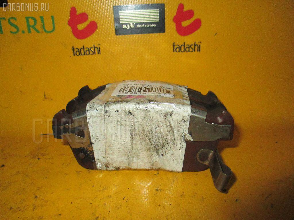 Тормозные колодки TOYOTA PASSO KGC10 1KR-FE. Фото 11