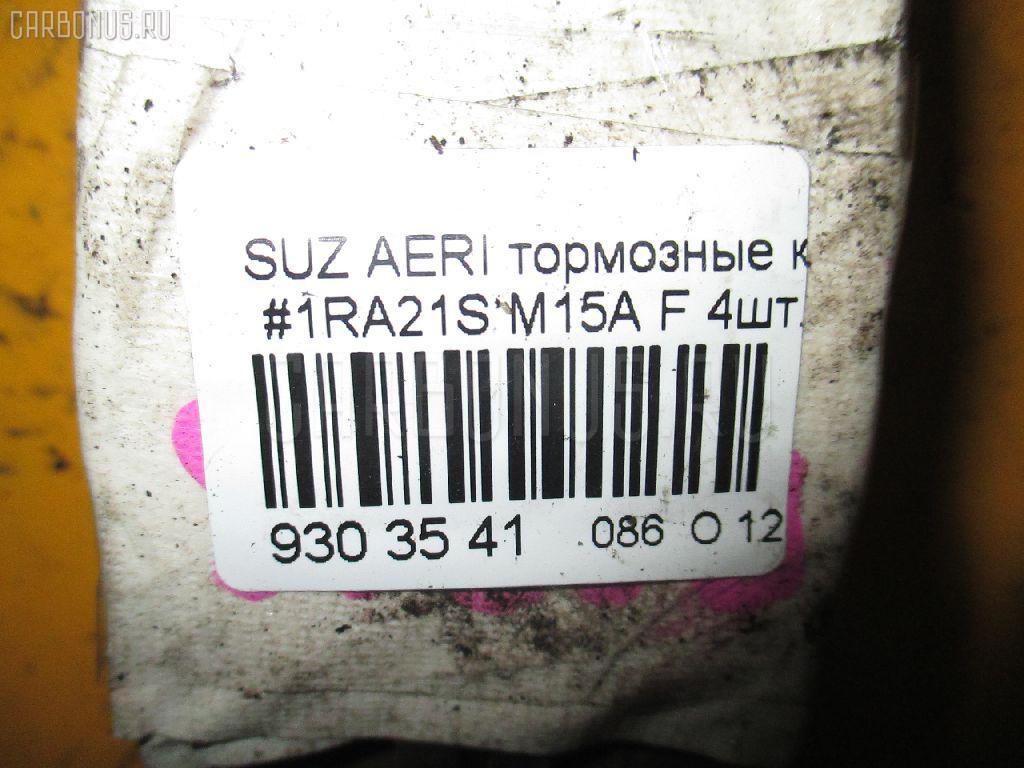 Тормозные колодки SUZUKI AERIO SEDAN RA21S M15A Фото 3
