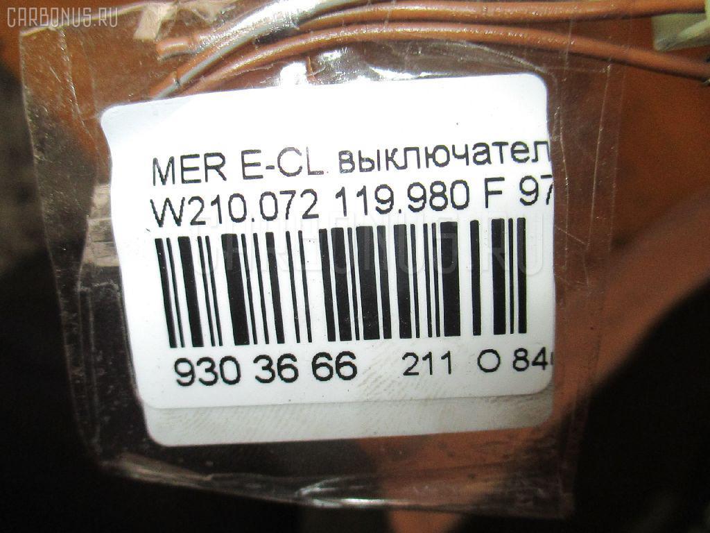Выключатель концевой MERCEDES-BENZ E-CLASS W210.072 119.980 Фото 3