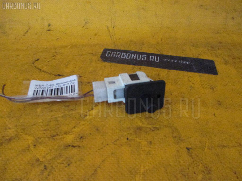 Выключатель концевой MERCEDES-BENZ C-CLASS W203.061 112.912 Фото 1