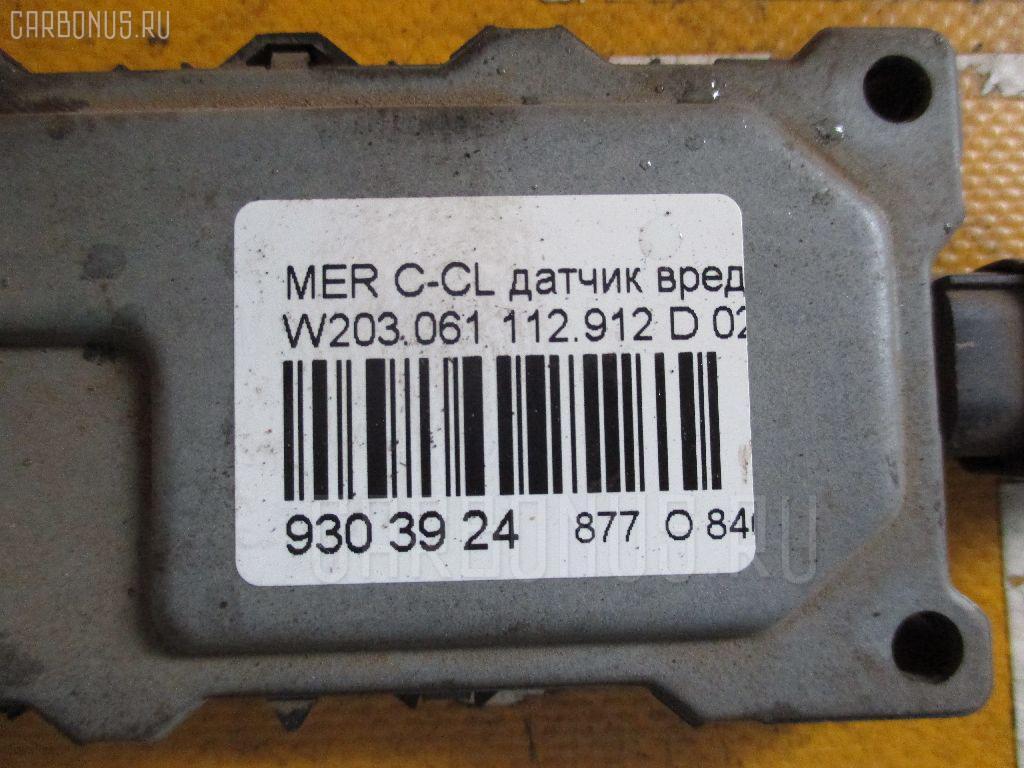 Датчик вредных газов наружнего воздуха MERCEDES-BENZ C-CLASS W203.061 112.912 Фото 3