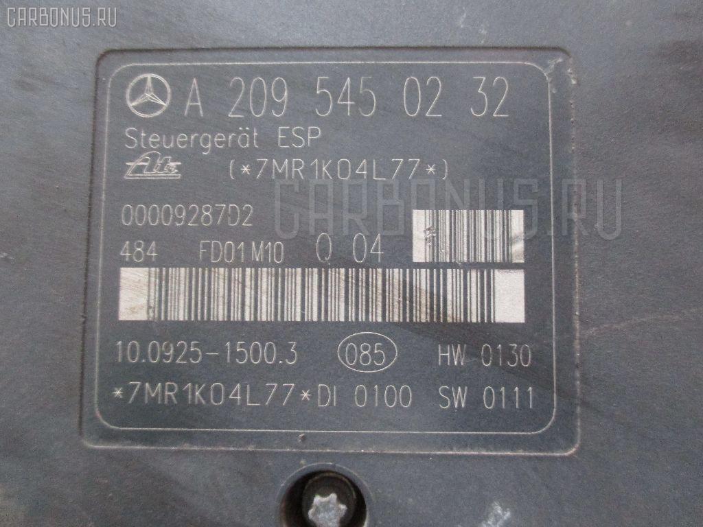 Блок ABS MERCEDES-BENZ C-CLASS W203.061 112.912. Фото 3