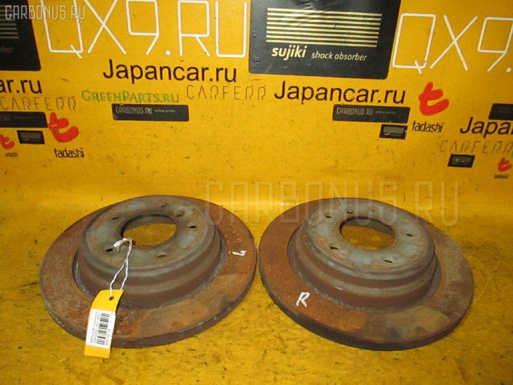 Тормозной диск BMW 5-SERIES E39-DD62 M52-286S1 Фото 1