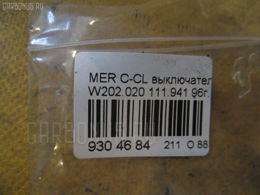 Выключатель концевой MERCEDES-BENZ C-CLASS W202.020 111.941 Фото 2