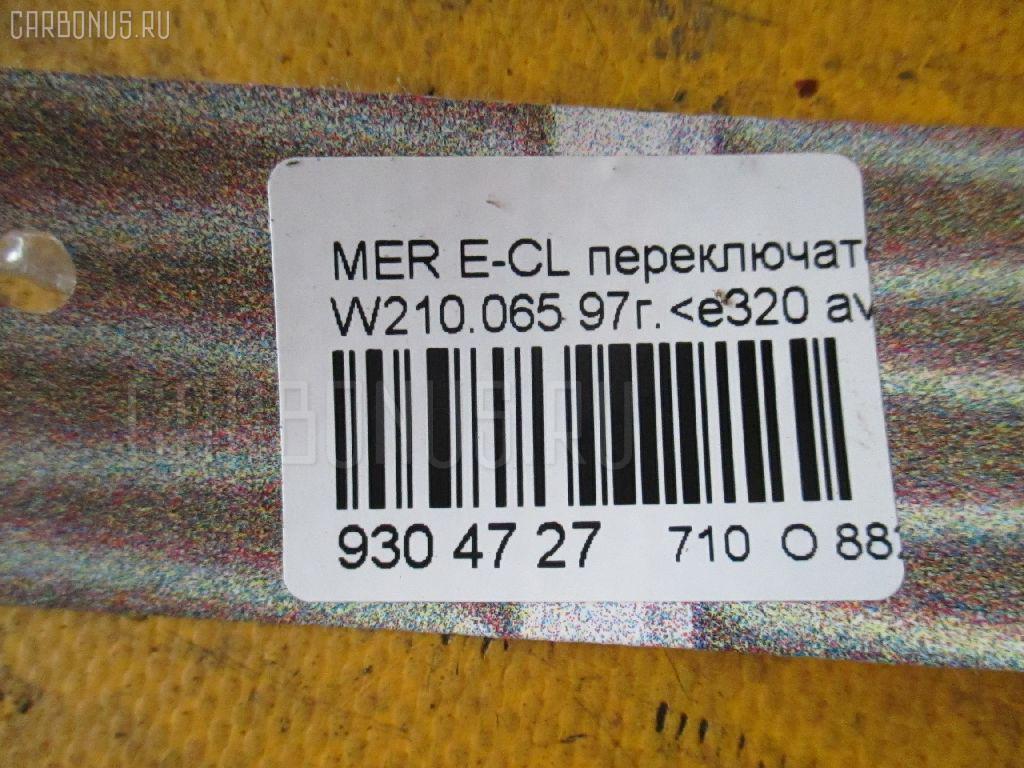 Переключатель поворотов MERCEDES-BENZ E-CLASS W210.065 Фото 3