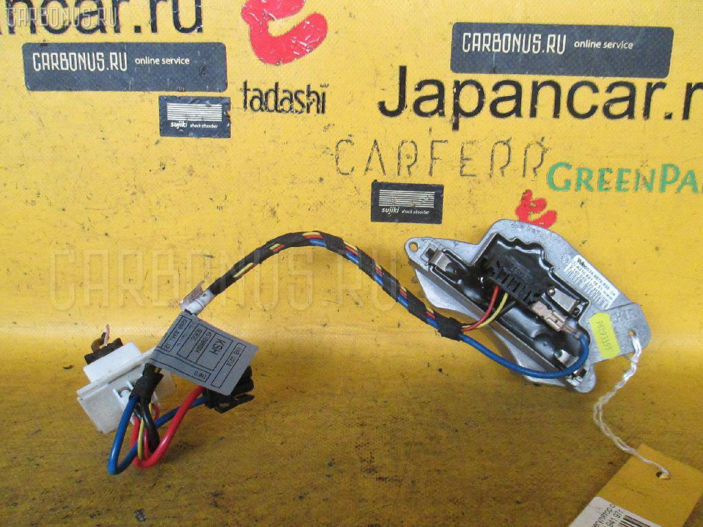 Регулятор скорости мотора отопителя MERCEDES-BENZ E-CLASS W210.065 Фото 2