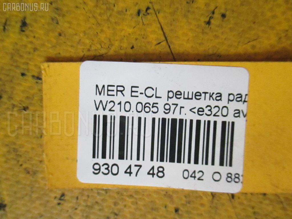 Решетка радиатора MERCEDES-BENZ E-CLASS W210.065 Фото 3