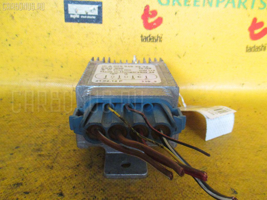 Блок управления вентилятором MERCEDES-BENZ E-CLASS W210.065 112.941. Фото 2