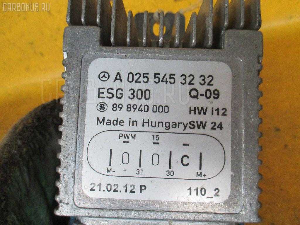 Блок управления вентилятором MERCEDES-BENZ E-CLASS W210.065 112.941 Фото 3