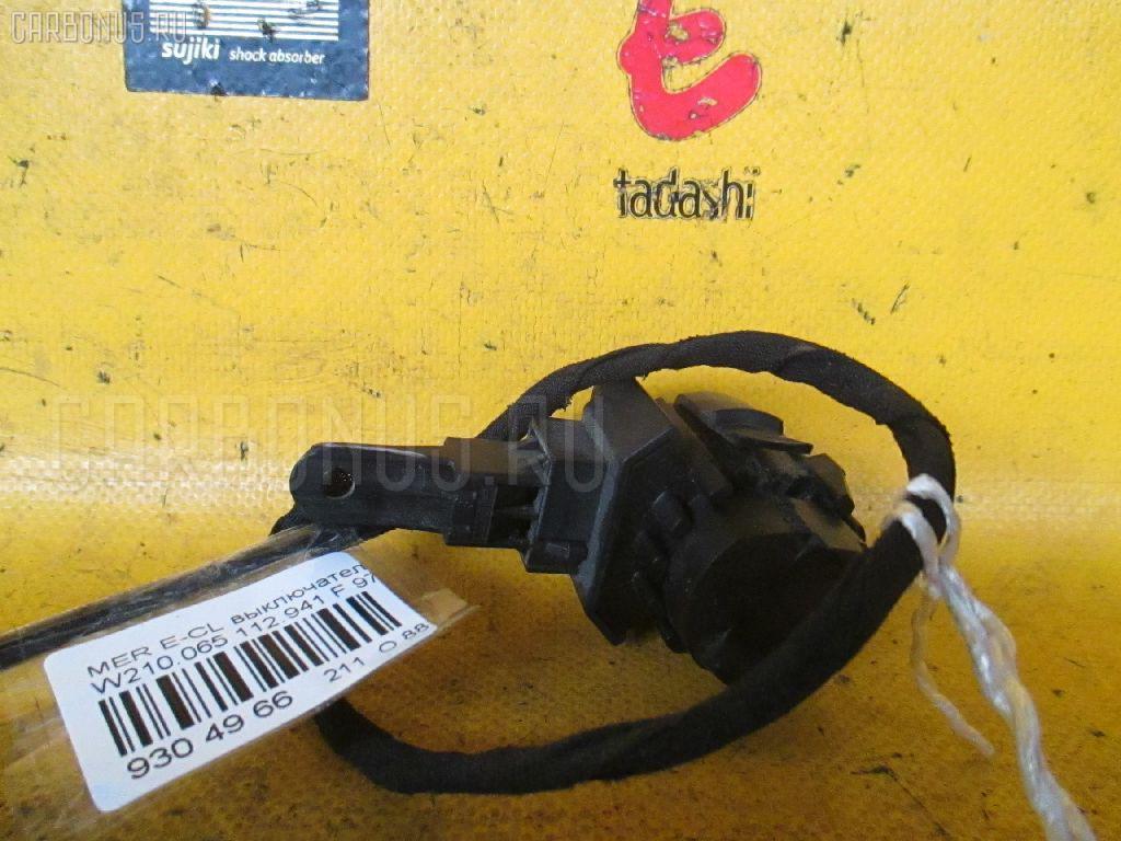 Выключатель концевой MERCEDES-BENZ E-CLASS W210.065 112.941 Фото 1