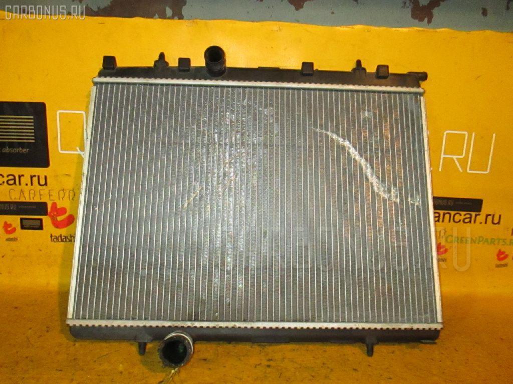 Радиатор ДВС PEUGEOT 206 2AKFW KFW-TU3JP Фото 2