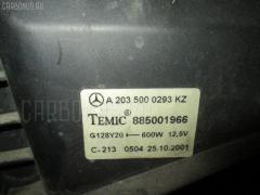 Вентилятор радиатора ДВС MERCEDES-BENZ C-CLASS STATION WAGON S203.261 112.912 Фото 1