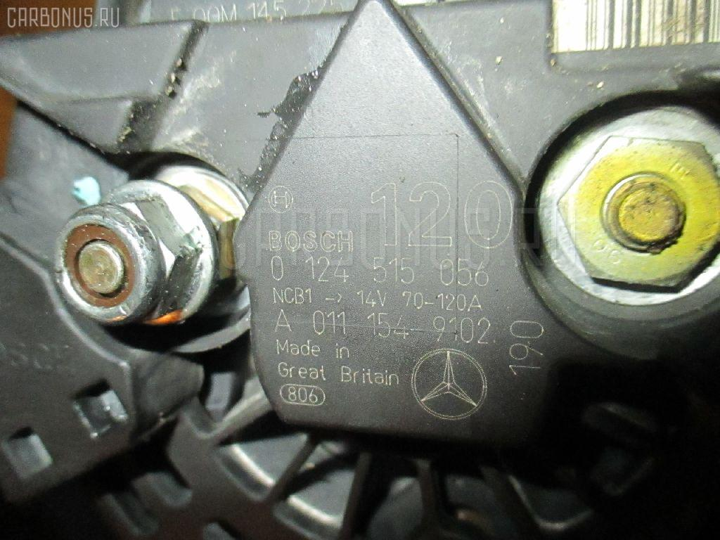 Генератор MERCEDES-BENZ M-CLASS W163.154 112.942. Фото 10