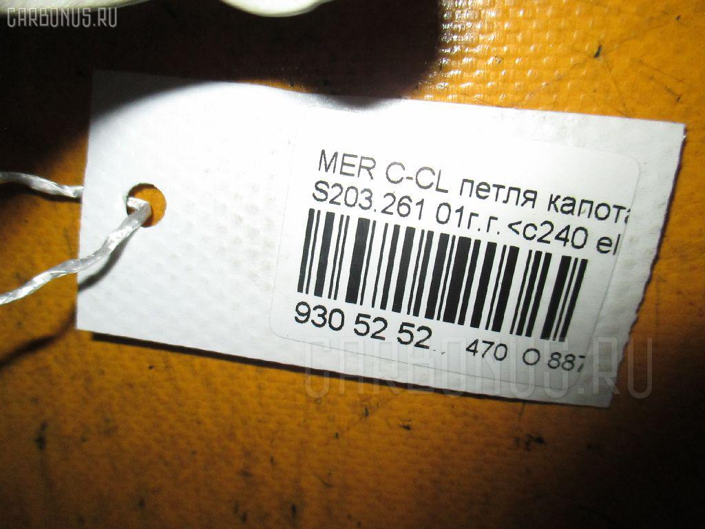 Петля капота MERCEDES-BENZ C-CLASS STATION WAGON S203.261 Фото 2