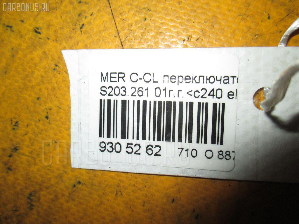 Переключатель поворотов MERCEDES-BENZ C-CLASS STATION WAGON S203.261 Фото 3