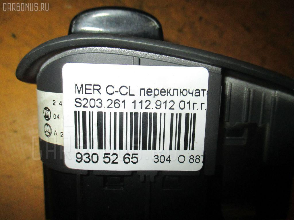 Переключатель света фар MERCEDES-BENZ C-CLASS STATION WAGON S203.261 Фото 3