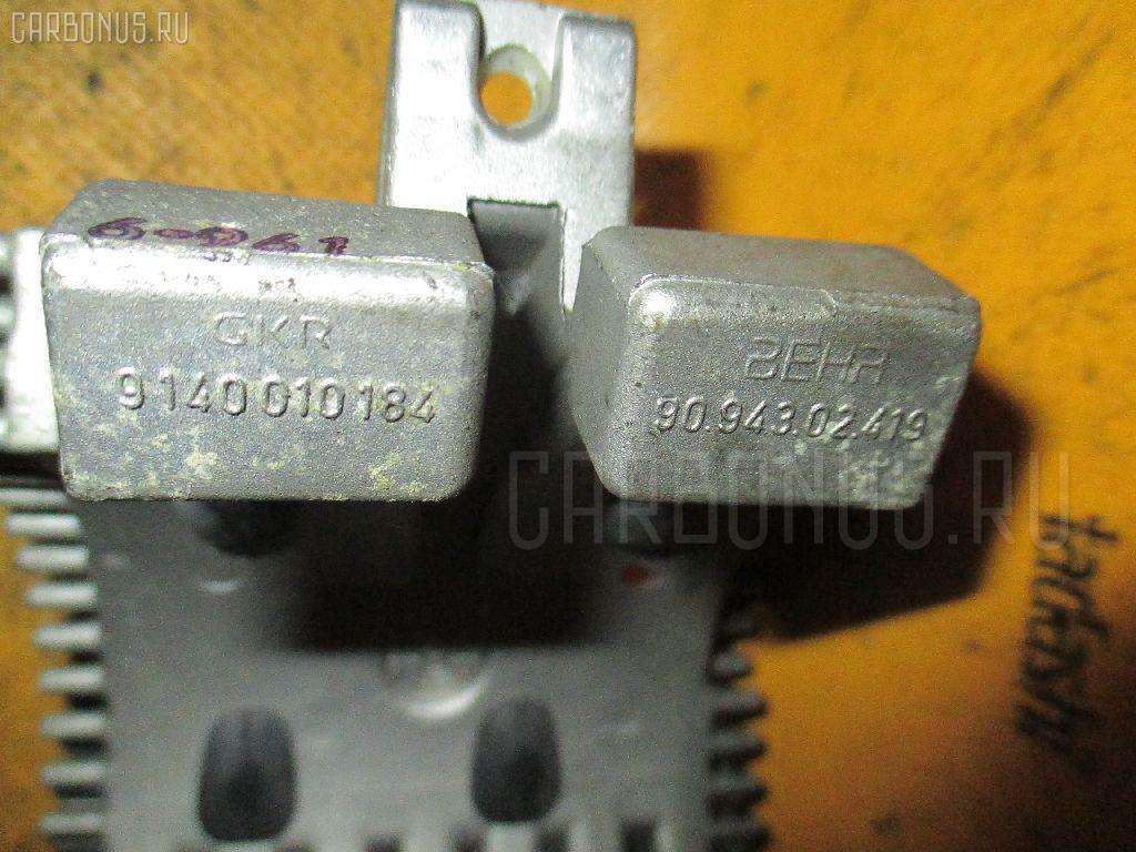 Регулятор скорости мотора отопителя BMW 7-SERIES E38-GJ01 M73N-54122 Фото 1