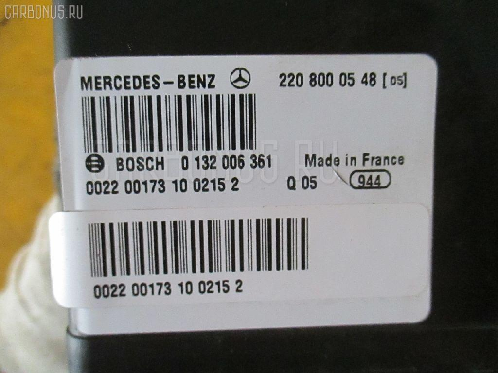 Компрессор центрального замка MERCEDES-BENZ S-CLASS W220.178 137.970 Фото 1