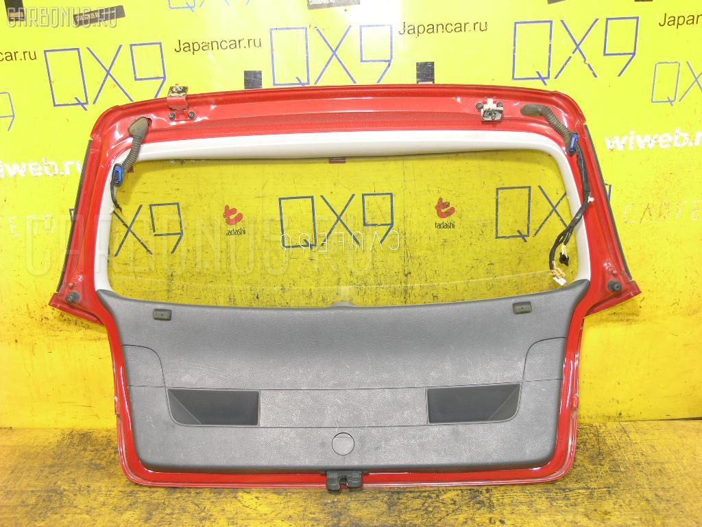 Дверь задняя VOLKSWAGEN GOLF V 1KBLX Фото 2