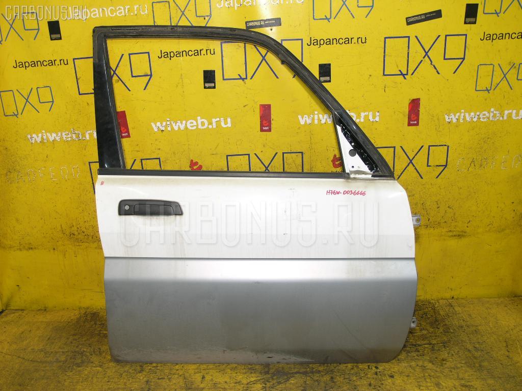 Дверь боковая Mitsubishi Pajero io H76W Фото 1