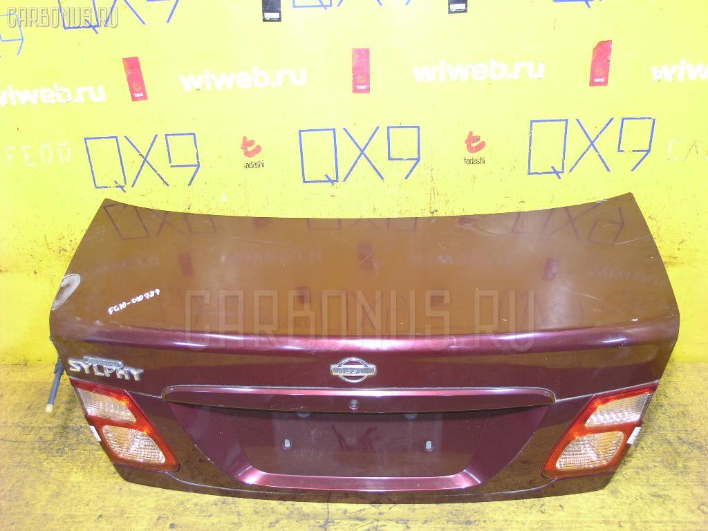 Крышка багажника NISSAN BLUEBIRD SYLPHY FG10 Фото 1