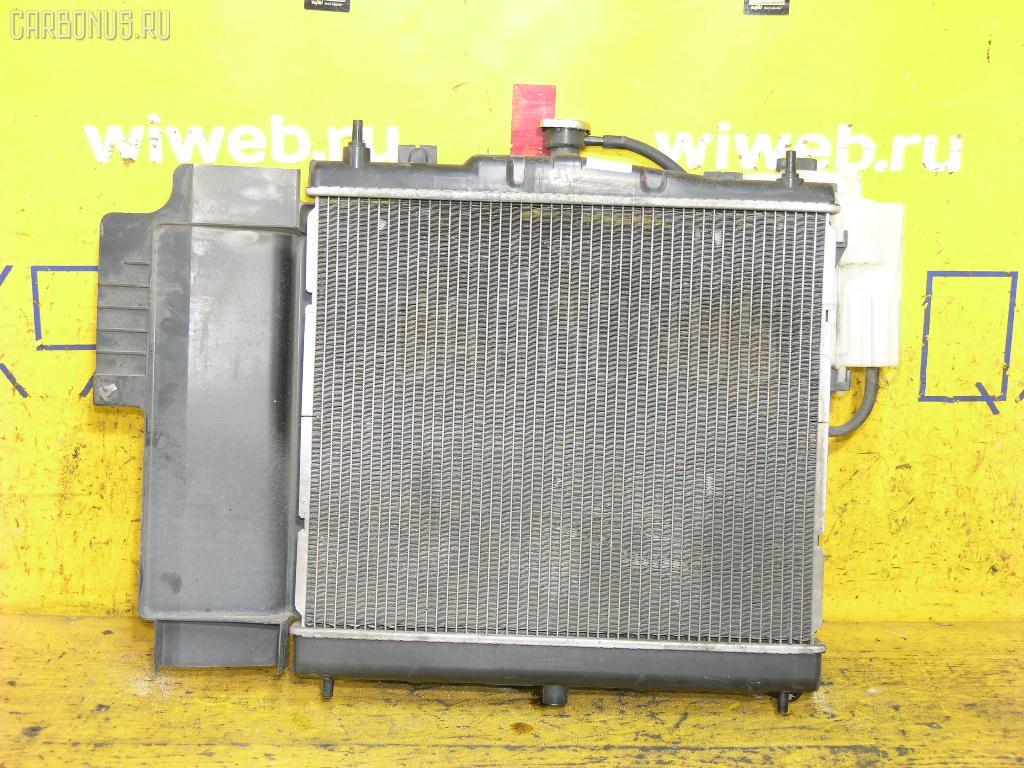 Радиатор ДВС NISSAN NOTE E11 HR15DE Фото 1