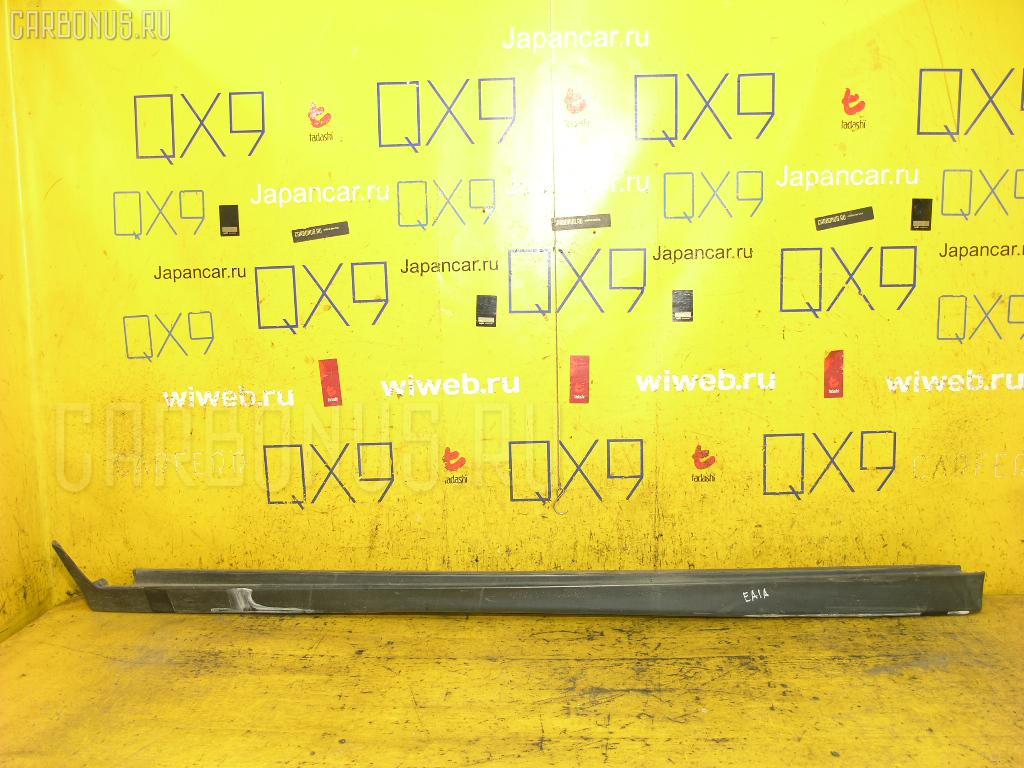 Порог кузова пластиковый ( обвес ) MITSUBISHI GALANT EA1A Фото 1