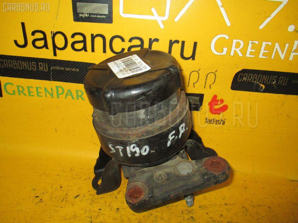 Подушка двигателя TOYOTA CARINA ST190 4S-FE. Фото 6