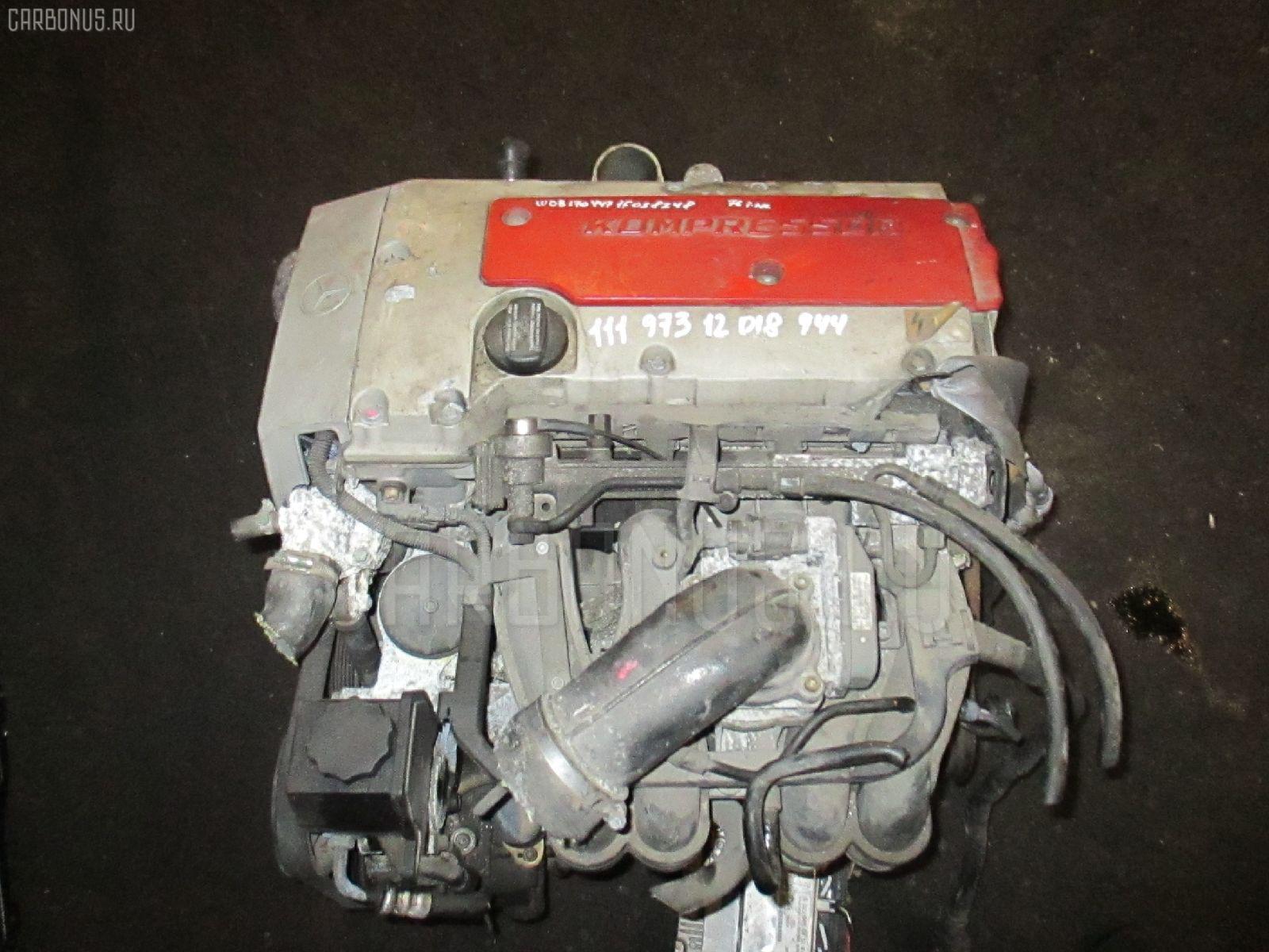 Двигатель MERCEDES-BENZ SLK-CLASS R170.447 111.973 Фото 4