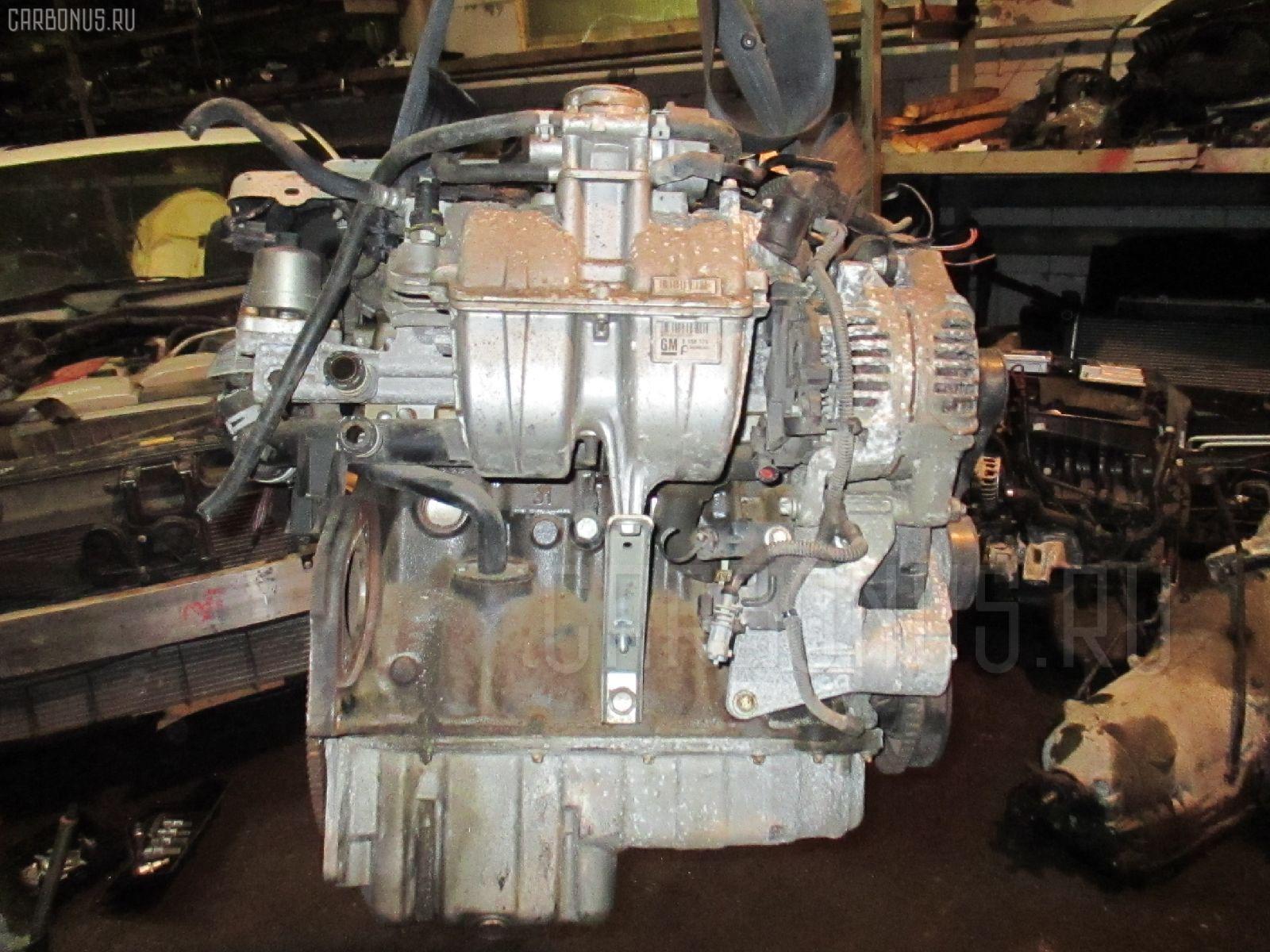 Двигатель OPEL VITA W0L0XCF68 Z14XE Фото 6