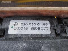 Блок управления климатконтроля MERCEDES-BENZ S-CLASS W220.175 113.960 Фото 2