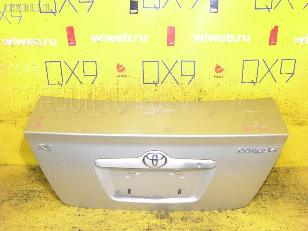Крышка багажника TOYOTA COROLLA NZE121 Фото 1