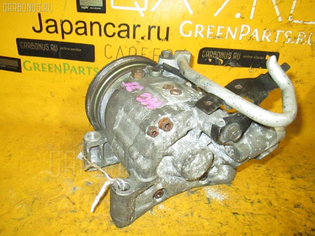 Компрессор кондиционера NISSAN LAUREL HC35 RB20DE. Фото 9