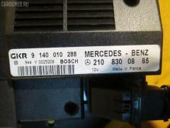 Блок управления климатконтроля Mercedes-benz E-class W210.061 112.911 Фото 3