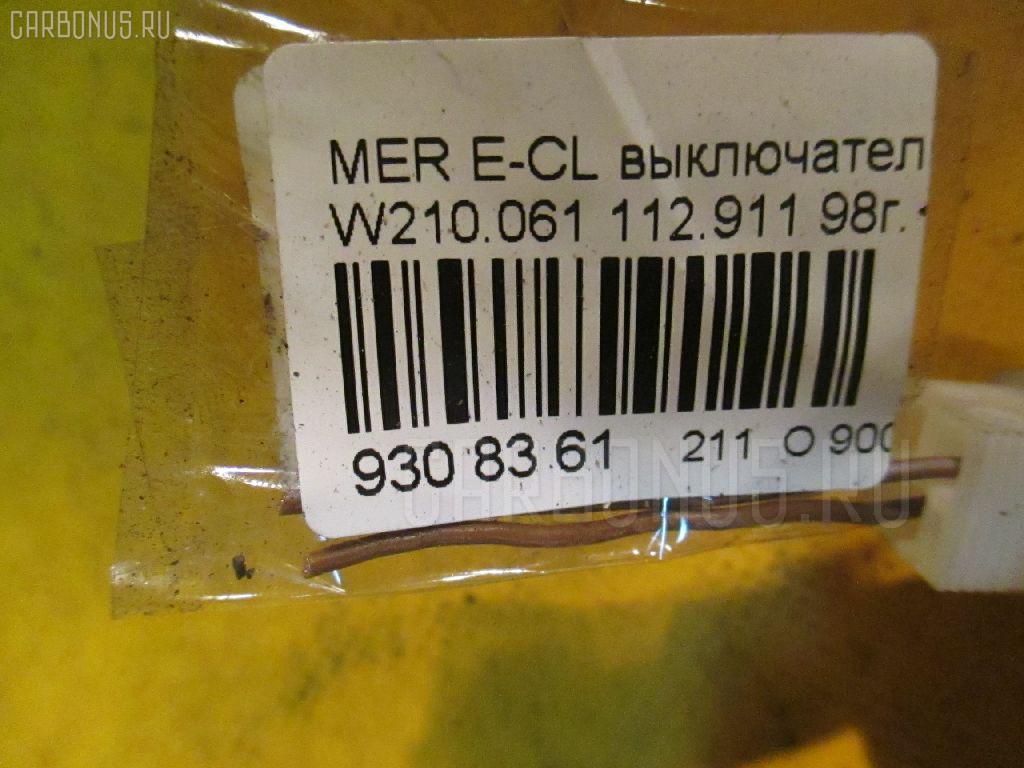 Выключатель концевой MERCEDES-BENZ E-CLASS W210.061 112.911 Фото 3