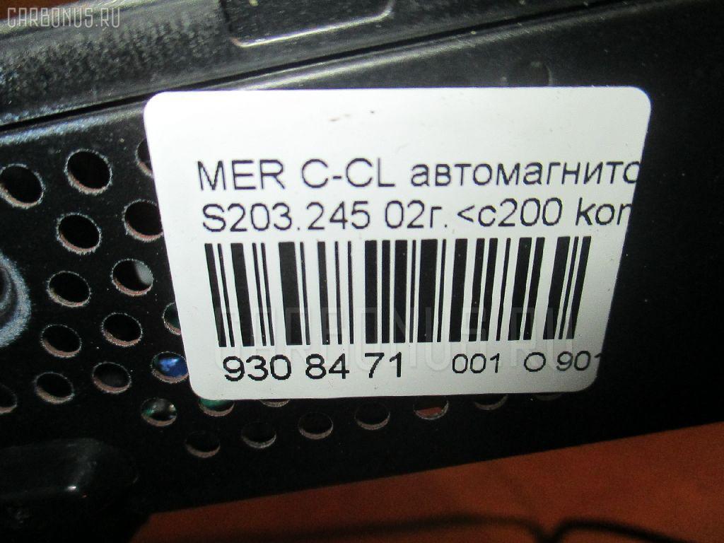 Автомагнитофон MERCEDES-BENZ C-CLASS STATION WAGON S203.245 Фото 4